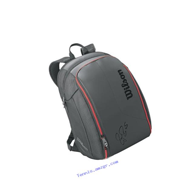 Wilson Federer DNA Collection Racket Backpack, Black